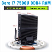 Core i7 7500u ddr4 hystou Kaby Lake Mini PC Windows 10 Computer DDR4 Intel HD Graphics 620 Micro PC Minipc 4K mini HTPC nettop