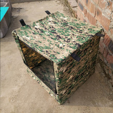 Outdoor Shoot Target Case Archery Camo Box Hunting Airsoft Training Foldable Bag Shooting Game Box & Free Target Bullseye Gift(China)