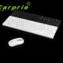 Carprie New Keyboard Mouse Combo Set Wireless Suit Keyboard+1600DPI Gaming Mouse 17May23 Dropshipping