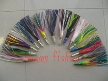 Sample Set (15 pieces) for10' High SpeedTroling Lure for Tuna/Marlin/Elops Fishing Enjoy Retail Convenience at Wholesale Price
