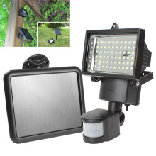 LED Solar Lamp Waterproof Solar Light 60 LEDs PIR Motion Sensor Security Outdoor Path Wall Garden Light Spot Lighting