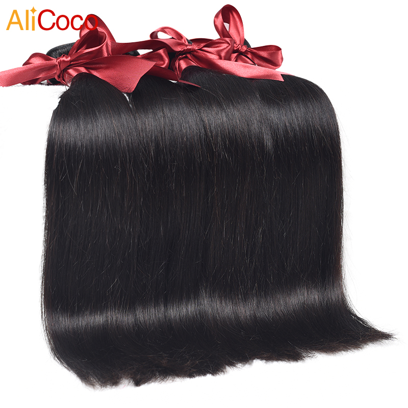 9A Peruvian Virgin Hair Straight Ali Coco Hair Products 4 Bundles Peruvian Straight 100% Human Hair Weave Peruvian Virgin Hair<br><br>Aliexpress
