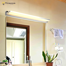 2017 New Washing room led Wall Lamps for home decoration luminaria de parede fashionable design Dressing table lampada(China)
