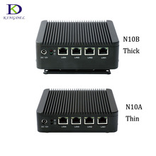 Mini PC X86 4*Lan Desktop PC with Celeron J1900 Quad Core 4*USB VGA Firewall Multi-Function Router(Hong Kong)