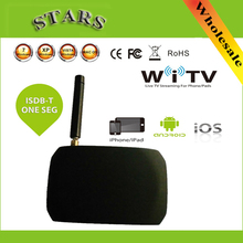 HD Digital Wirelss WiFi Mobile DVB-T ISDB-T Satellite Live TV Link Tuner Stick Receiver For iPad iPhone Android Pad Phone Tablet