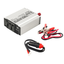 New Vehicle 500W Inverter Car Power Inverter Converter DC 12V to AC 220V USB Adapter Portable Voltage Transformer Car Chargers(China)