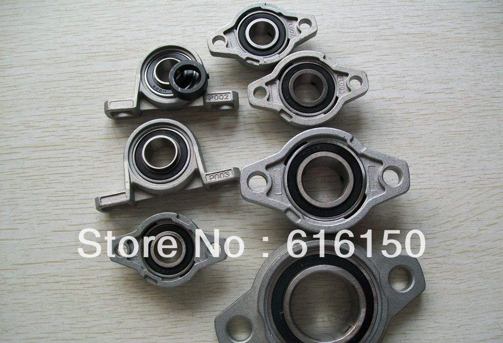 1PCS Stainless steel insert bearing with housing KP08 pillow block bearing Stainless steel insert<br><br>Aliexpress
