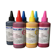 Sublimation Ink 6 colors(CMYKLCLM) for Epson Printer use for phone case,T-shirt,Ceramics,Pottery,Mouse pad,Cup