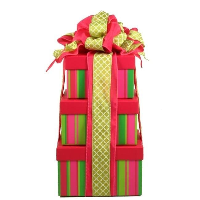 Gift Basket Drop Shipping ChOnTo With A Cherry On Top Sweets and Spa Tower