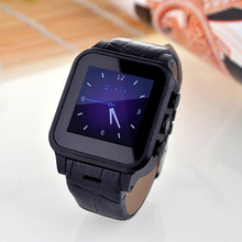 Fashion Camera Wrist Watch Support Simcard GPS Compass WIFI 3G Bluetoorth Watch Android 4.4 Smartwatch Relojes inteligentes(China)