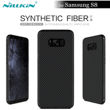 Nilkin Coque For Samsung Galaxy S8 Case NILLKIN Carbon Synthetic Fiber Back Cover Case for Samsung Galaxy S8 5.8'' Funda Capa(China)