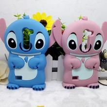 Phone Case For LG Leon H324 H340 C40 450 Cute Cartoon Lilo Stitch Shockproof Soft 3D Silicone Case Rubber Cover Coque Free Ship
