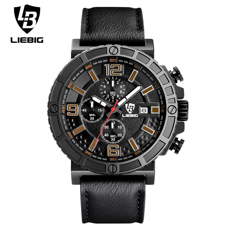 LIEBIG Fashion Mens WristWatches Male Luxury Brand Quartz Watch Men Military Army Sport Watch Man Relogio Masculino Casual 1016<br><br>Aliexpress