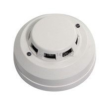 2 PCS LED Fire Alarm Alert Photoelectric Smoke Detector Wired Home Security System Free Shipping