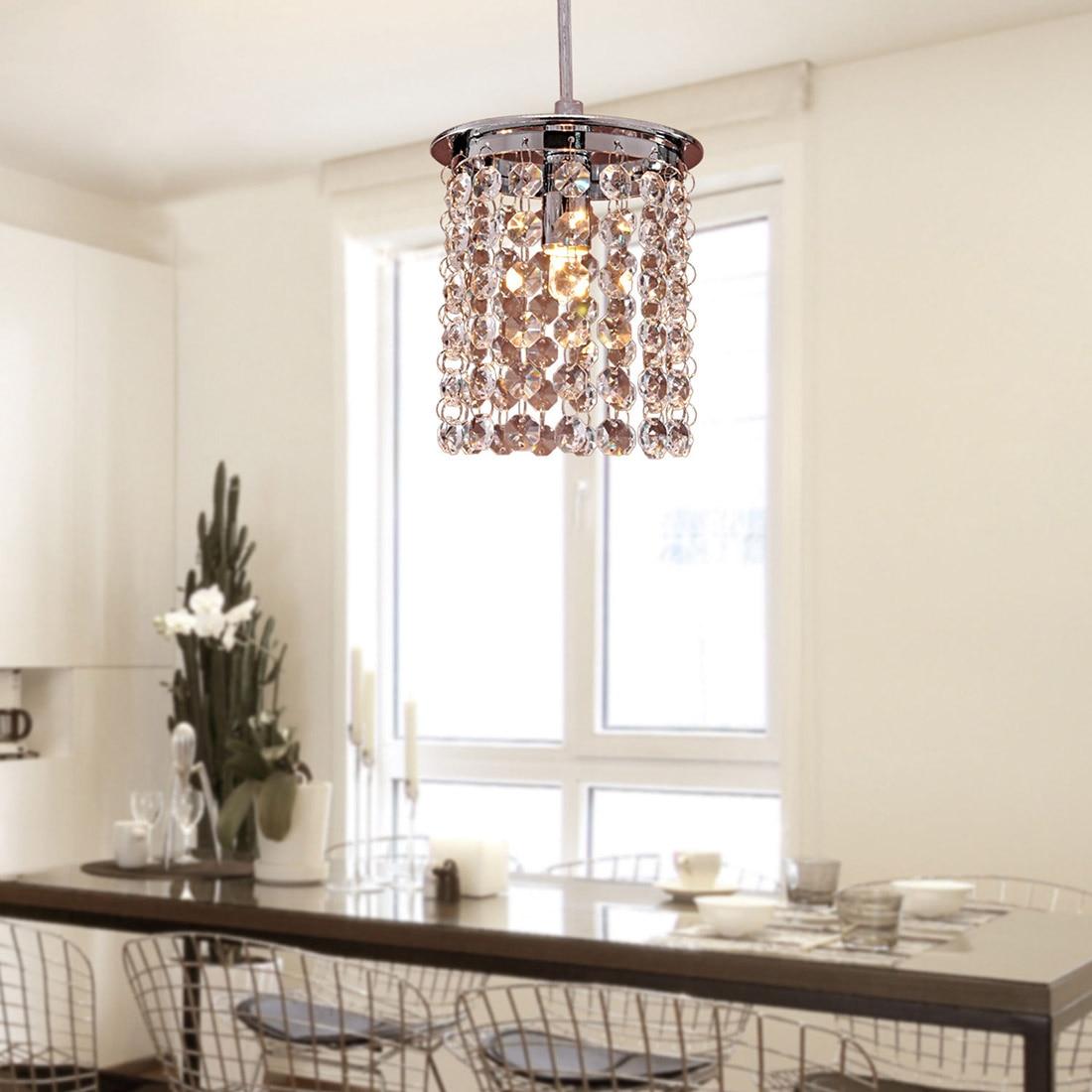 NFLC-Crystal Modern Chandelier Pendant Kitchen Dining Room Fixture Ligh<br><br>Aliexpress