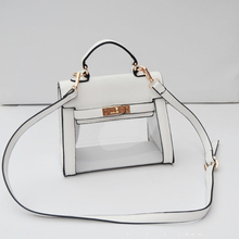 2016 Fashion Mini Transparent Bag Women Handbag High Quality PVC Shoulder Bag Famous Brand Designer Beach Bag Sac a Main