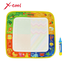 New Toys Water Drawing Mat 29 X 30 CM Board Painting and Writing Doodle With Magic Pen Non-toxic Drawing Board for Baby Kids