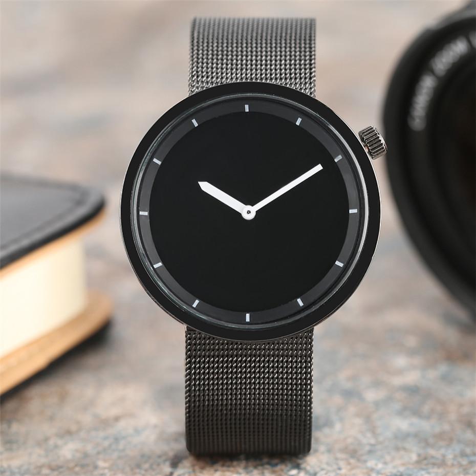 YISUYAแฟชั่นลำลองผู้ชายนาฬิกาอะนาล็อกควอตซ์ฉลามสีดำสแตนเลสตาข่ายวงสร้างสรรค์นาฬิกาข้อมือท... 3