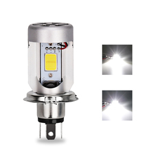 12v Hs1 h4 Led Motorcycle Moped Scooter Light Bulb 6500k Xenon h4 Motorcycle Led Light Scooter Moto Accessories For Harley