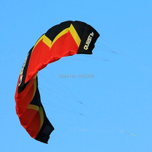 2 Sqm Stunt Kite Dual Line Power Traction Kites Outdoor Sport Kiteboarding Trainer Kite Free Postage(China)