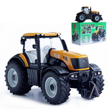 Free Shipping Big Size Engineering Truck Farm Tractor Bulldozer Model High Quality Alloy Bulldozer Toys For Kids