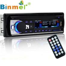 Bluetooth Car Stereo Audio CD In-Dash FM Aux Input Receiver SD USB MP3 Radio Remote control HandsFree Car MP3 Audio Player N1213