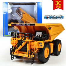 Free shipping high quality alloy kaidiwei brand Engineering Vehicle model Wholesale toy cars similar as siku-mining truck