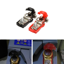 1 Pair Red Black Car Battery terminal connector Clamp Clips Negative Positive for Auto Car Truck