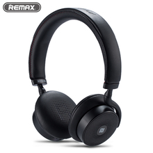Original Remax 300HB Bluetooth V4.1 Headphone Headset Touch Control Wireless Stereo Earphone Music HD Microphone for iphones(China)