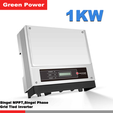 GW1000-NS Goodwe grid tied inverter,new update transformerless 1kw 230v output power inverter connected 250 260w solar panel