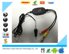 Luckertech Secure 2.4G Radio frequency wireless module DC and BNC interface for Analog video view No clutter