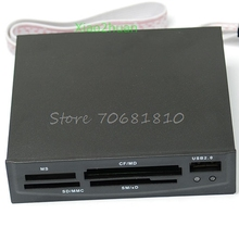 3.5 inch USB Internal MS CF MD SD MMC XD TF Card Reader #R179T#Drop Shipping(China)