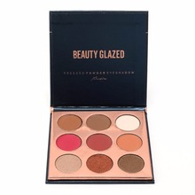 Buy BEAUTY GLAZED 9Colors Pressed Powder Eyeshadow Pallete Make Waterproof Nude Shimmer Matte Eye Shadow Palette Cosmetics Beauty for $3.27 in AliExpress store