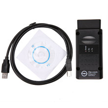 2017 New OPEL OPCOM OP COM V1.59 OBD2 Opel OP-COM Interface Scanner Car Diagnostic Tool With PIC18F458 chip(China)