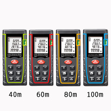 SNDWAY T Series Handheld Laser Range Finder Infrared Measuring Instrument Electronic Scale Laser Scale 40M 60M 80M 100M(China)