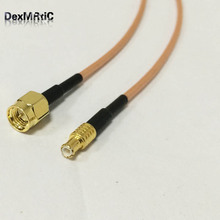 SMA male plug to MCX male straight RF cable assembly RG316 15cm 6inch NEW wholesale