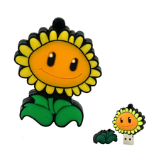 corpse flower Pen Drive music  8GB 16GB 32GB 64GB Usb 2.0 Flash Drive memory stick Pendrive drive download usb drive sunflower