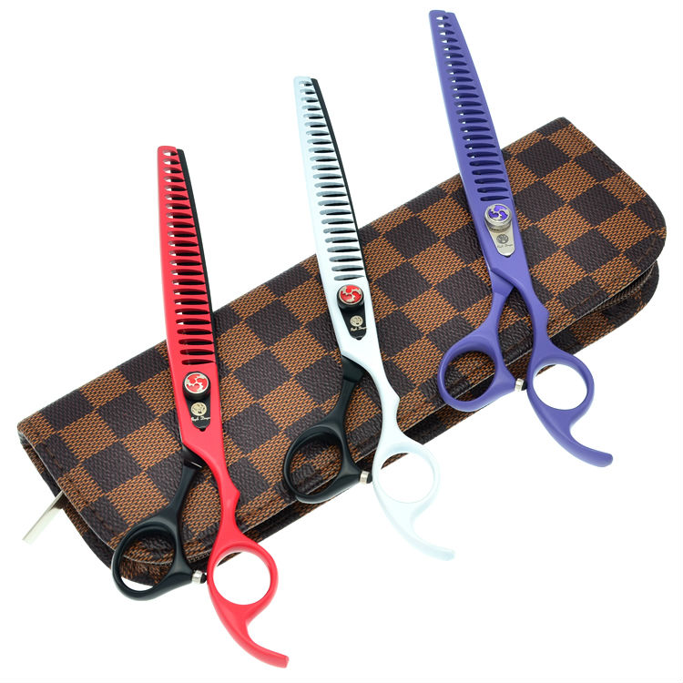 8.0 Professional Dog Hair Thinning Scissors Pet Grooming Scissors Set Pet Animal Thinning Scissors JP440C<br>