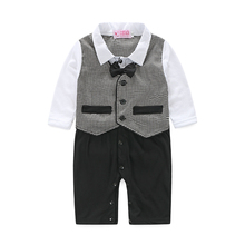 2015 new Baby rompers long sleeve jumpsuit one piece wear baby boy clothes roupa de bebe menino macacao bebe conjuntos infantis