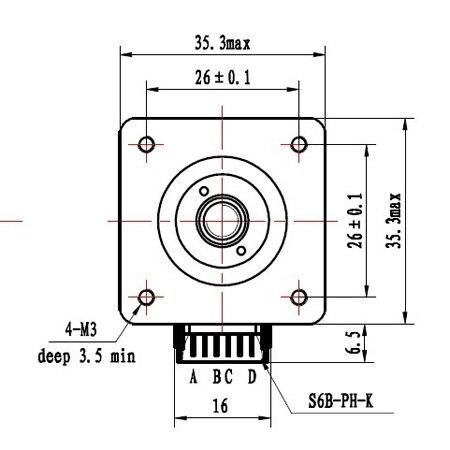 Prusa i3 nema14 linear 300mm Tr5*2 acme leadscrew<br><br>Aliexpress