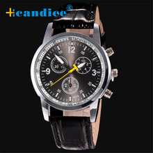 fashion casual watches Luxury Fashion Crocodile Faux Leather Mens Analog mens wristwatches Drop ship