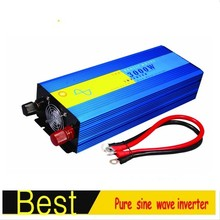 12/24/48vdc to 110/220vac power inverter 3000W Pure sine wave inverter, full output 3kw peak power 6kw convertidor de potencia(China)
