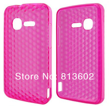 For Alcatel One Touch Pixi 4007, 4007X, 4007E Latest Diamond Style Soft Gel TPU Resin Skin Back Cover Case Mix Color