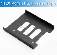 2.5 SSD HDD To 3.5 Metal Mounting Adapter Bracket Dock For PC SSD Holder