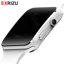 "EXRIZU Fashion Smart Watch Phone 1.54"" HD OGS Bracelet Support SIM 32GB TF Card Whatsapp Bluetooth Smartwatch for Android Phone"