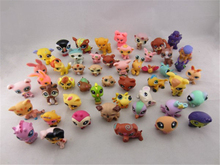 20pcs/lot PVC 4-6cm Anime Figure Random Send Little Pet Shop Action Figure Collectible Model Toys(China)