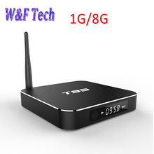 10pcs T95 Android TV Box Amlogic S905x Quad Core Smart TV 1G/8G  HDMI OTG RJ45 USB H.265/HEVC 4k*2K media player