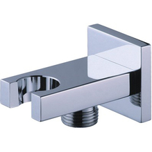 Brass Chrome Hand Held Showerhead Bracket Holder Wall Mounted Bathroom Shower accessory fittings(China)