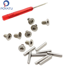 POYATU Replacement Headband Screws Replacement Hinge Pins Screwdriver Tool Kit Repair Parts For Beats SOLO HD Wireless Headphone
