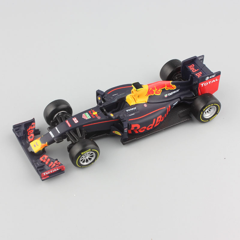 1:43 Scale 2016 children metal diecast F1 formula 1 Red Bull Racing TAG Henuer RB12 No.33 Max Verstappen cars styling model toys(China)